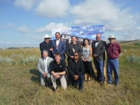 Groundbreaking Held for Red Hawk Estates in New Town, ND
