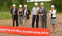 Edina Realty Holds Groundbreaking for New Office Building